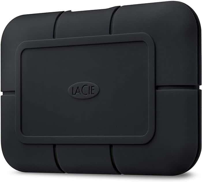 LaCie Rugged SSD Pro-mejor disco duro externo para mac