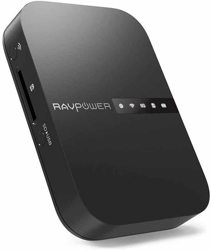 RAVPOWER FileHub WD009-discos duros externos wifi