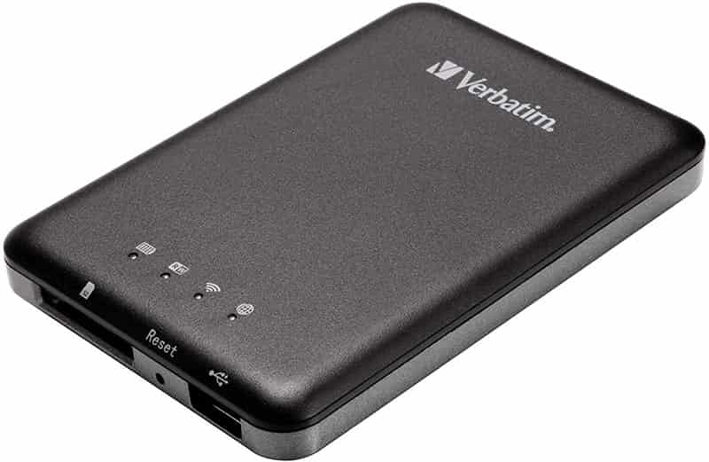 Verbatim VB-98243 Mediashare Wireless-adaptador para disco duro wifi