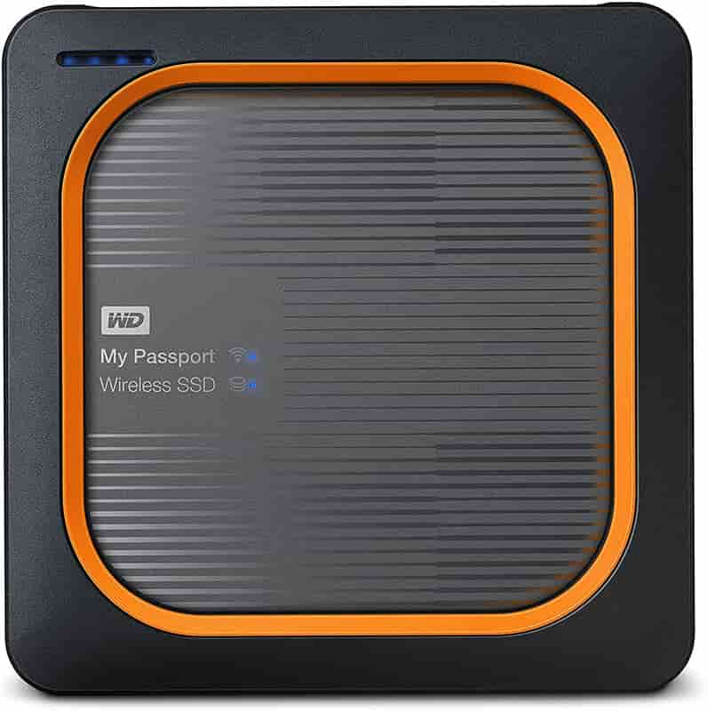 Western Digital My Passport Wireless SSD-disco duro wifi ipad