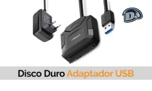 disco duro adaptador usb