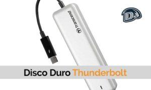 disco duro thunderbolt