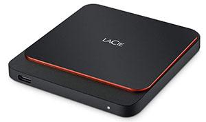 ssd externo para PS5- LaCie Portable SSD