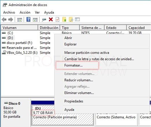 disco duro externo no aparece windows 10