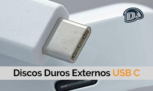 discos duros externos usb c o con conexión del tipo c
