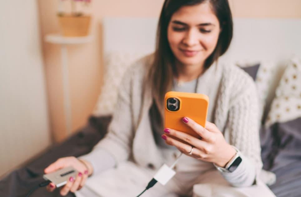 como conectar un disco duro externo al móvil