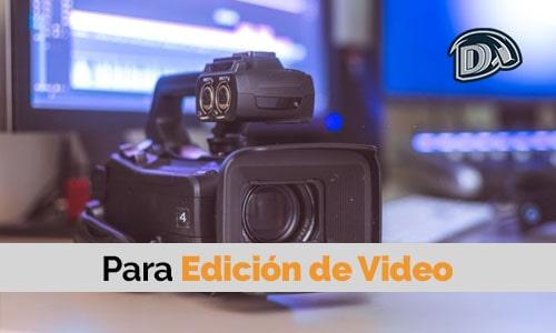 disco duro externo para edición de video